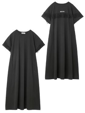 SIDE RIBBON DRESS 03174905 ボーダー