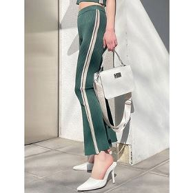 【AZUL by moussy】筆記体ロゴニットワッチ 2509AW56-6903