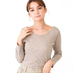 lazy knit top 〜レイジーニットトップ 305120110