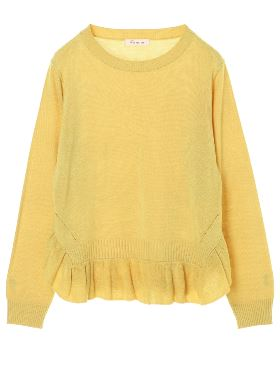 BACKカシュクールKNIT TOPS 1171070181