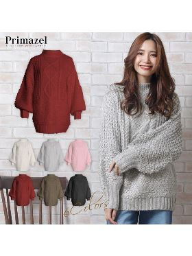OVER SIZED KNIT TOPS 434750