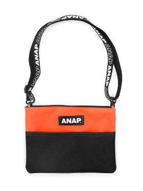 【anap mimpi】柄×ボア クラッチBAG 0900200532 総柄