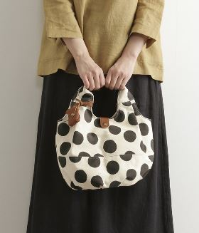 CANVAS BALOON TOTE BAG(D・サーモン) ZOI-2G79-564-D