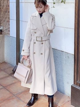 PAPER NYLON ONE-PIECE COAT A0MK50009SJM シャツワンピ
