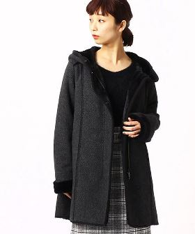 【HARROW TOWN STORES/ハロータウンストアーズ】 WOOL BALMACAAN COAT 16020410002630