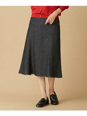 (L)Crash denim skirt E67947_BS16SM04-L001 デニムスカート